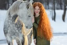 Hair inspiration - Length, texture, colour