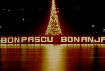 Christmas Curacao 1978 / Curacao 1978 Christmas decorations in Punda, Willemstad.