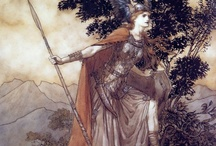 Scandinavian and Anglosaxon things / Everything Germanic and Scandinavian: Mythology, male and female warriors, art,...