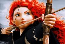 Brave: Merida / My appreciation to the awesome Celtic red-headed archer and sword-fighter Merida!!!!