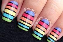 Raimbow Nails