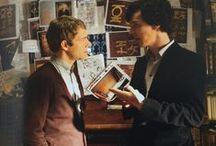 Sherlock! / My favourite fandom! I love Conan Doyle's books, and the BBC series and characters. I love the values of the series, and I identify a lot with Sherlock. Fave characters: Sherlock, John, Molly, Mycroft, Lestrade, Mrs Hudson, Mary. Ships (+friendships): Sherlolly, Sherlock/John friendship (not Johnlock, generally), Johnstan, Mycroft/cake, Sherlock/Mrs Hudson and Sherlock/Mary FRIENDSHIPS, Sherlock/Mycroft (brotherly). Crossovers: Practically everything. Love Potterlock, Treklock, Hobbitlock.