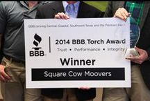 Torch Award Winners  / There are 5 Winners of the Torch Awards for Marketplace Ethics this year, 2014. We visited the first winner today and will continue adventuring around Texas giving out awards all this week. / by Central Texas  Better Business Bureau
