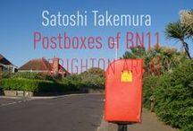 bn11 - Satoshi Takemura [Postcards] / Photographs of the postboxes of BN11 [BRIGHTON AREA] VERTICAL