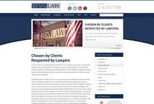 BFSN Law Custom Website Design / CI WebGroup welcomes you to our collection of web designs, interior pages, cover photos and banner pages for social media for our client BFSN Law. Professionally done by CI WebGroup.