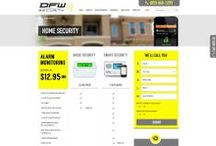 DFW Security Custom Web Design / Welcome to our collection of Custom Website Designs for DFW Security. Professionally done by CI WebGroup