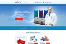 Avcor Medical Medical Custom Website Designs / CI WebGroup welcomes you to our collection of Custom Website, Interior Pages, Banners and Social Media Designs for Avcor Medical. Professionally done by CI WebGroup