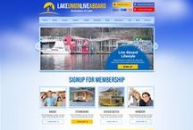 Lake Union Liveaboard (LULA) Real Estate Custom Website Design / CI WebGroup welcomes you to our collection of custom web designs, social media banner pages!