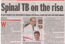 Spinalogy in News / Dr. Kiran Shete's articles in India's popular Newspapers.