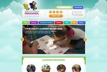 Ashley's  Garden Preschool Custom Website Design / This is a Custom Web Designs, Social Media Banner pages and covers, Custom Interior pages,  for our client Ashleys Garden by CI WebGroup.
