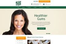 Smile Street Dental Custom Web Design / CI WebGroup welcomes you to our collection of a custom web design, Facebook cover and Banner pages. Professionally done by CI WebGroup.