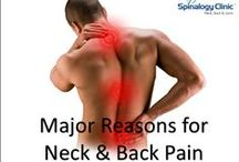 Neck Pain Treatment / Spinalogy provides neck pain treatment.