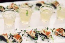 Wedding Cocktail Hour Food & Drinks