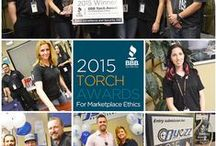 2015 Torch Award Winners /  2015 Torch Award Winners for Marketplace Ethics Austin Real Estate Partners             Category:  1-10 Employees Dyezz Surveillance              Category:  11-49 Employees  Abacus School of Austin               Category:  50-100 Employees / by Central Texas  Better Business Bureau