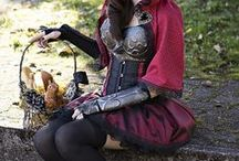 ✧; girl with the red cloak / Willow Hood is the daughter of Red Riding Hood.