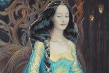 Tolkien women - Melian the Maia