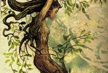 Tolkien women - Other / Female Ents, Orcs,...