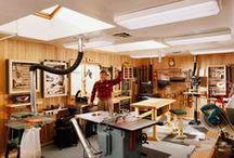 Dílna - organizace, stroje, stoly / Organizace, stroje, stoly