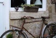 Bicycles! / Sommer net fietse, die eenvoud van stadige vervoer in mooi plekke en teen mooi ou huisies!