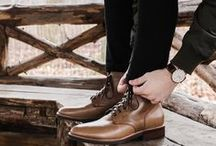 Oh So Natural - Leather Boots / Multiple boot styles for men and women, one natural leather.