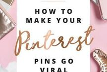 Pinterest Tips / Expert tips on how to use Pinterest to increase traffic to your website. Learn how to design pins and create a Pinterest strategy.