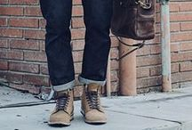 Boots and Denim - Men's Style / Men's Boot and denim outfits featuring Thursday Boots