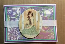 Cards, Tags & More By Anne / These are some of my handmade cards and tags.