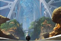 Art : Environments / Concept art, paintings and illustrations of inspiring environment.