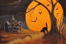 Holiday - Halloween / Vintage images of an old fashioned Halloween.