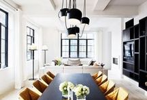Design Inspiration | Living/Dining / by Lunada Consulting & Design