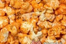 Savory / Are your taste buds craving something zesty, spicy and different? Whether you like your popcorn peppery hot or subtly salty, you'll favor the flavors of our Savory flavored popcorn.