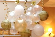Party time / Decoration, treats and balloons