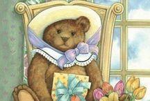 Teddy Bear Dreams / A collection of delightful, sweet Teddy Bears to warm the heart  ♥