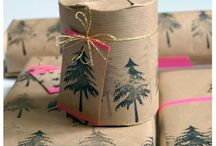 Beautifully wrapped / Paper, ribbon and bows