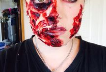 Halloween looks / All things scary and a couple of pretty blood and gore and Halloween looks DYI