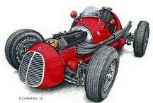History F1 / История формулы 1 / Formula 1, classic racing cars, f1, grand prix
