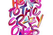 Typography, fonts & tapyface / Типография, шрифты и начертание