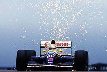 Williams FW14B & Williams Racing / Уильямс ФБ14 и команда Ф1 Уильямс Рэсинг / Williams racing, F1