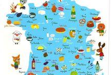 Illustrated maps/Иллюстрированные карты