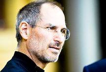 Steve Jobs & Steve Wozniak / Стив Джобс и Стив Возняк