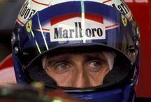 Alain Prost / Driver F1. Legendary pilot