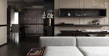 Moods / Celková atmosféra pokojů pro účely sladění návrhu terasy a balkónů.
