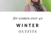 Winter Outfits (love!) / Winter fashion and accessories for apple-shaped women over 40 who want to feel confident and stylish! See how I'm keeping stylish this winter at whenthegirlsrule.com  #over40fashion #over40style #plussizefashion #plus