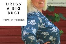 How to Dress a Large Bust / Flattering outfits for all occasions! You can see how I dress my large bust at whenthegirlsrule.com.   #dressinglargebust #outfitforlargebust #shirtsforlargebust