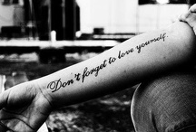 Tattoos / Ideas and likes :)
