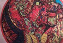Free_bird / Art Free_bird visionary Psychedelic en Fantasy tekeningen