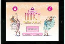 Fancy Nancy Apps and Audio / Fancy Nancy games and music are a fantastic addition to your young reader's digital library.