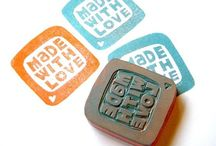 Rubber stamp diy