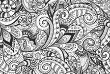 """Super Zentangles / """"Life is the art of drawing without an eraser"""""""
