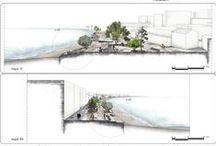 Landscape Architectural Technique / graphic representation of landscape architectural design